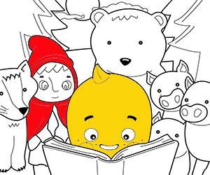 Dibujos para Colorear de Cuentos infantiles