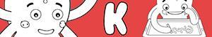Colorear Nombres de Niño con K