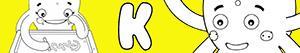 Colorear Nombres de Niña con K