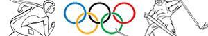 Colorear Juegos Olímpicos de invierno