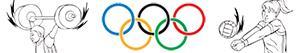 Colorear Deportes olímpicos. Varios